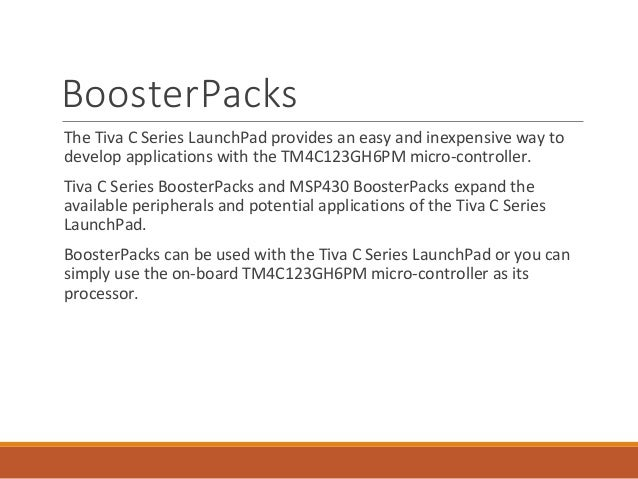 Tm4c123g Launchpad Software