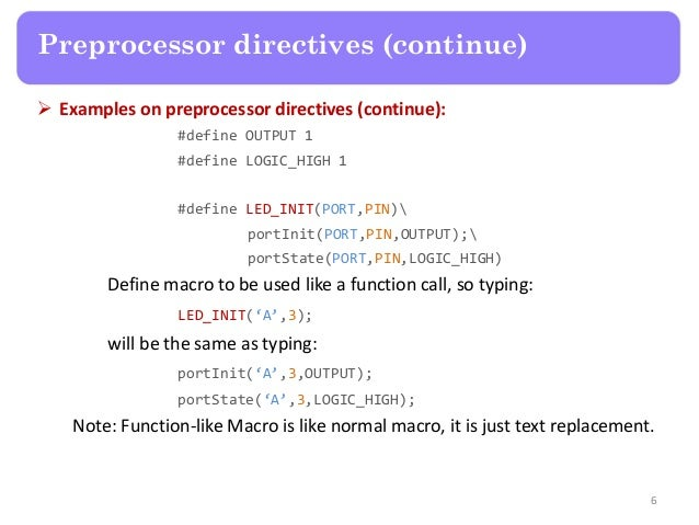 What are Macro Substitution Directives in C programming - Coding Security