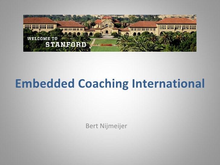 Embedded  Coaching International Bert Nijmeijer
