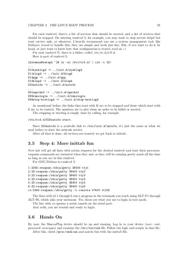 Embedded linux barco-20121001
