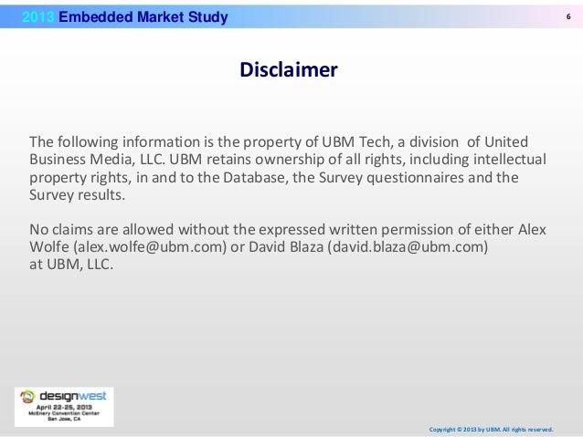 Embedded Market March 2013