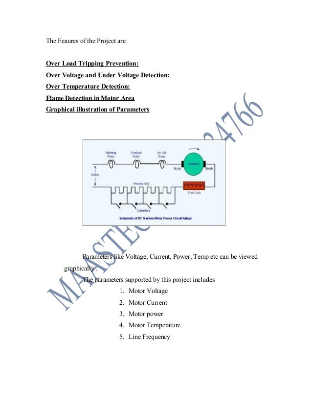 ELECTRICAL PROJECT ABSTRACT-Embedded pic microcontroller based motor …