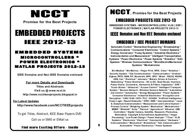 NCCT                                       NCCT , Promise for the Best Projects       Promise for the Best Projects       ...