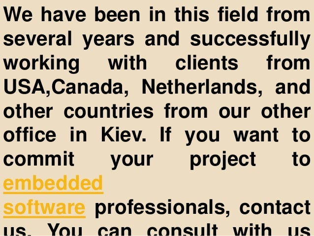 We have been in this field from several years and successfully working with clients from USA,Canada, Netherlands, and othe...