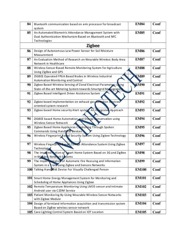 Ieee Embedded Systems Xlnc Infotech