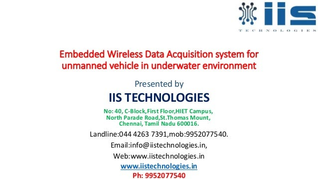 Automotive Data Acquisition System : Embedded wireless data acquisition system for unmanned