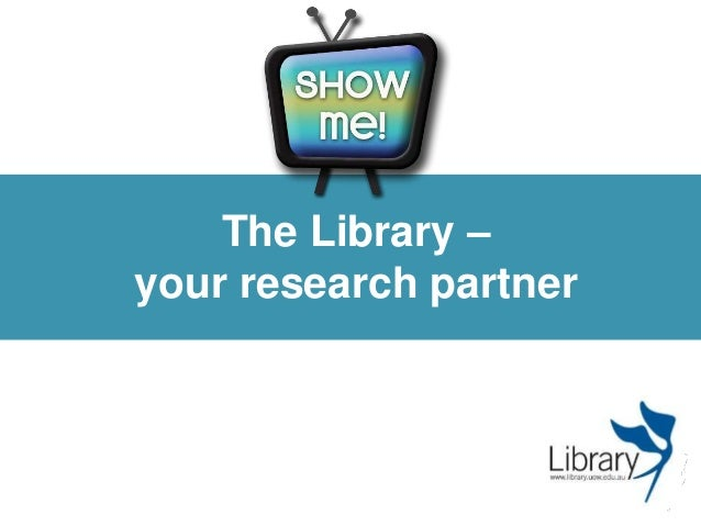 The Library – your research partner