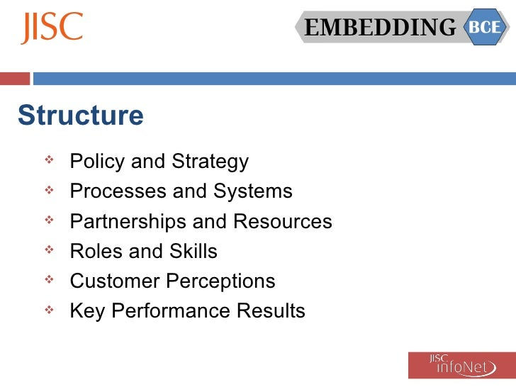 Embedding BCE - Good practice identified and emerging issues/barriers Slide 2