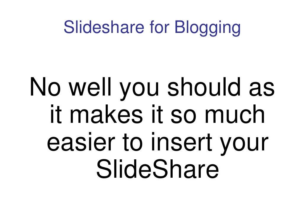 slideshare in