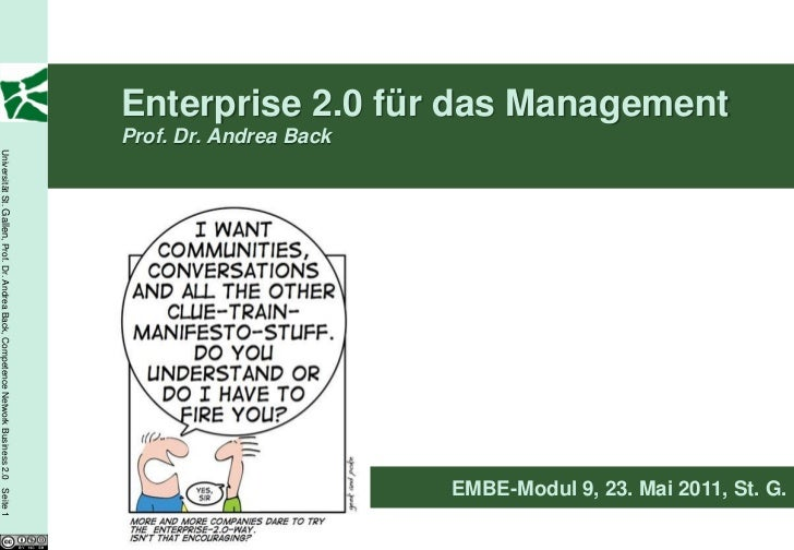 Enterprise 2.0 für das Management                                                                                         ...