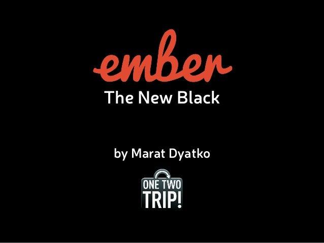 The New Black  by Marat Dyatko
