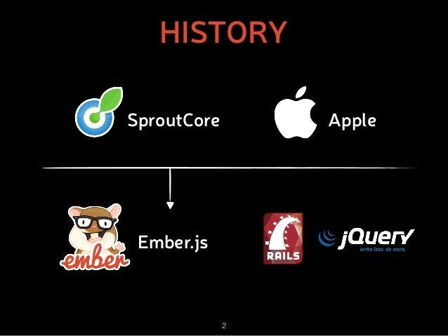 Ember.js: The New Black Slide 2