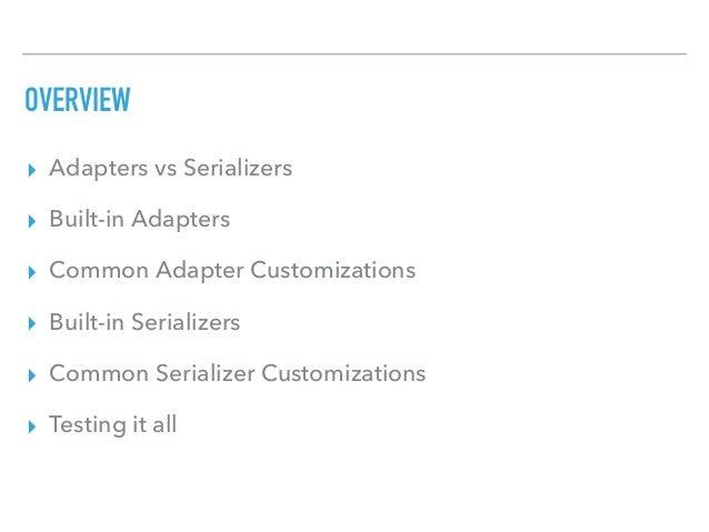 Ember Data and Custom APIs Slide 3