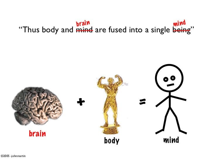 """bra i n                     mind             """"Thus body and mind are fused into a single being""""                           ..."""
