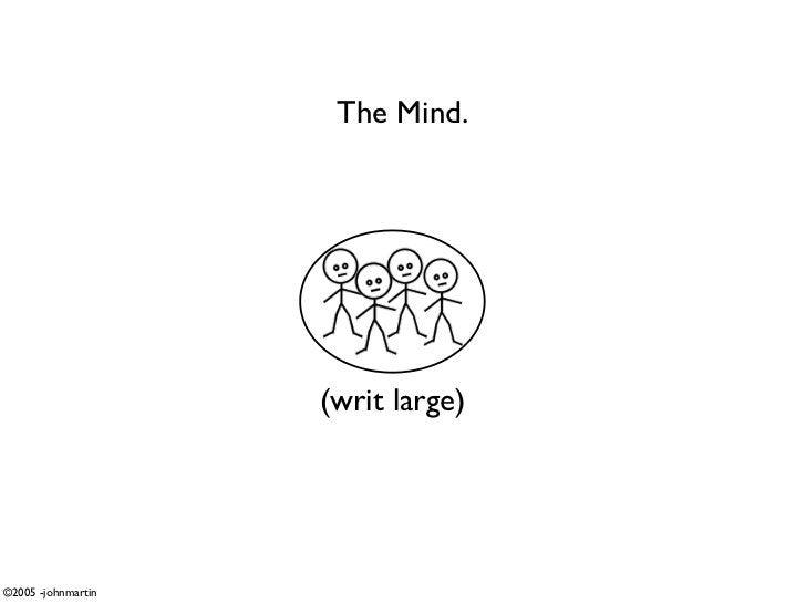 The Mind.                         (writ large)     ©2005 -johnmartin