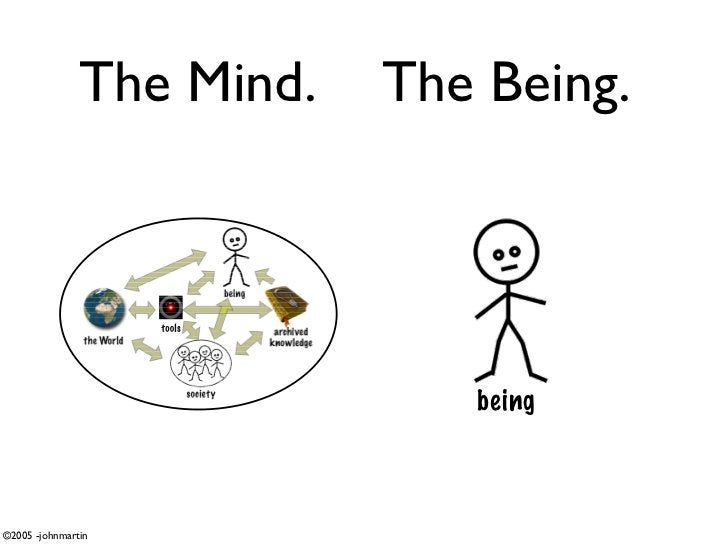 The Mind.   The Being.                                   being    ©2005 -johnmartin