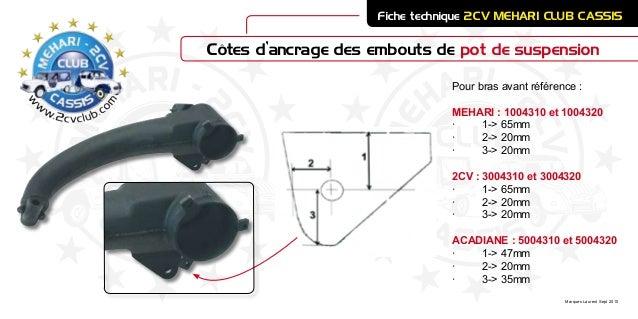 embout ancrage pot susp 2cv mehari club cassis. Black Bedroom Furniture Sets. Home Design Ideas