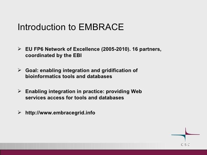 Embrace Web Services Slide 3