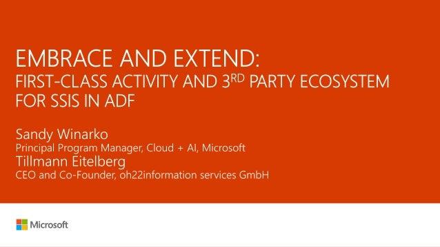 On-premises data sources SQL Server  OS: Windows/Linux  SCALABILITY: Scale-Out feature  EDITION: Standard/Enterprise  ...