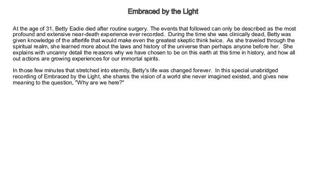 Embraced By The Light Book Adorable Embraced By The Light Audiobook Free Health Wellness