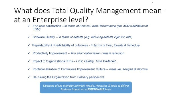 total quality management as an aspect of a reinvented corporate culture Free coursework on total quality management from essayukcom, the uk essays company for essay, dissertation and coursework writing.