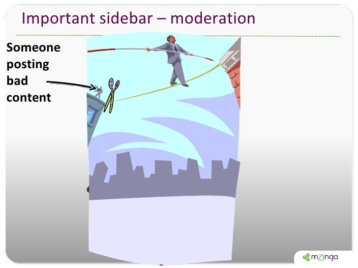 Important sidebar – moderation Someone posting bad content