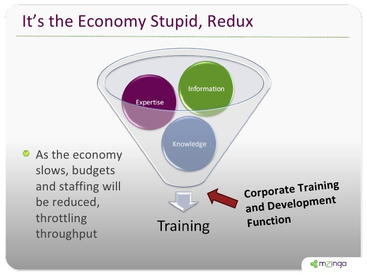 It's the Economy Stupid, Redux <ul><li>As the economy slows, budgets and staffing will be reduced, throttling throughput <...
