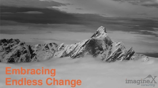 Proprietary and Confidential www.imagineXconsulting.com Embracing Endless Change