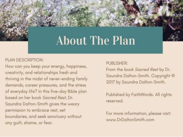 Embracing Rest - 5 Day Bible Reading Plan Slide 2