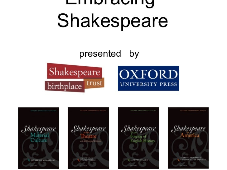 EmbracingShakespeare  presented by