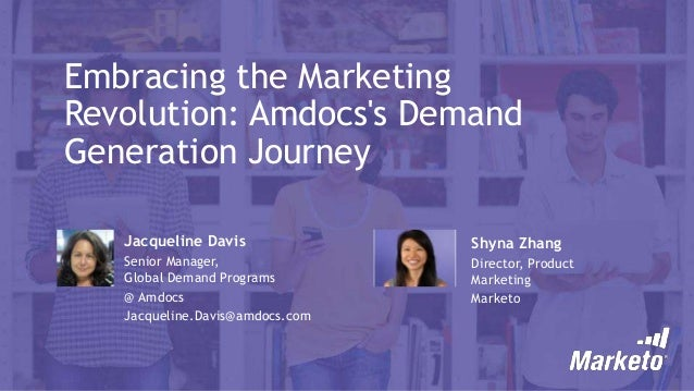Embracing the Marketing Revolution: Amdocs's Demand Generation Journey