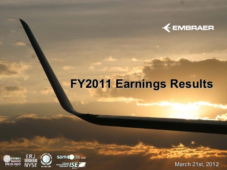 FY2011 Earnings Results                March 21st, 2012