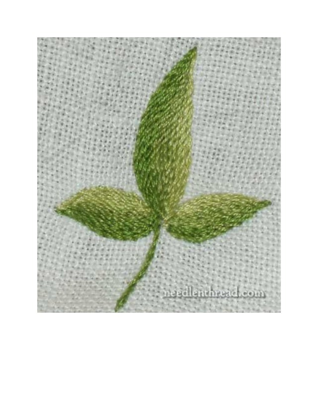 Embroidery techniques and tips