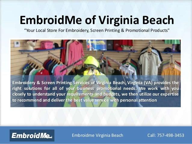 Embroidme Virginia Beach Va