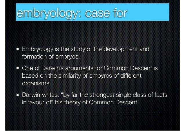 Embryology Slide 2