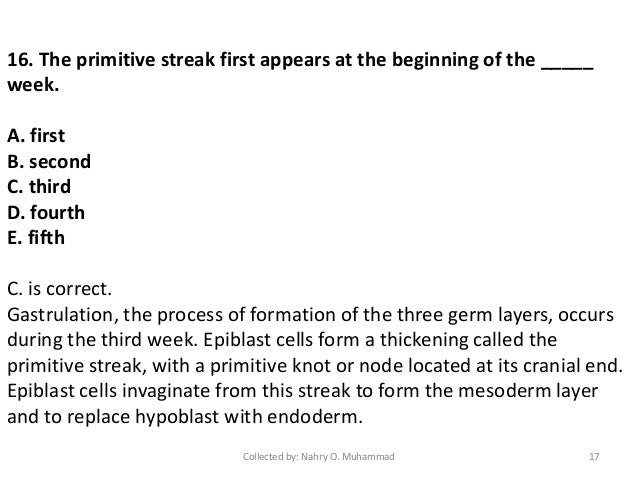 Germ layer formation results from the process of writing