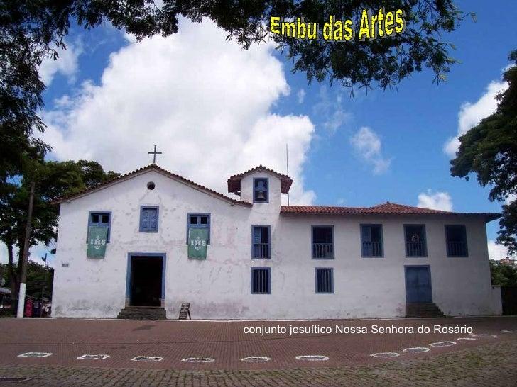 conjunto jesuítico Nossa Senhora do Rosário