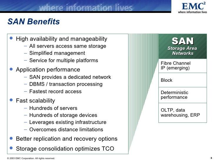 Emc San Overview Presentation