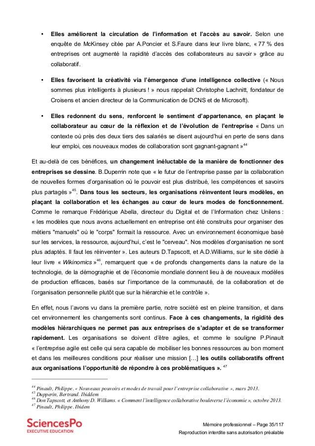 Mémoire professionnel – Page 35/117 Reproduction interdite sans autorisation préalable • Elles améliorent la circulation d...