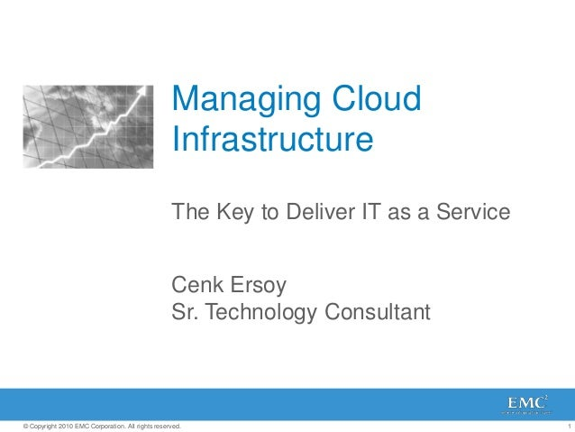 Managing Cloud                                                  Infrastructure                                            ...