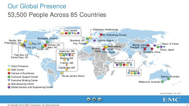 Our Global Presence  53,500 People Across 85 Countries                                                              Cork, ...
