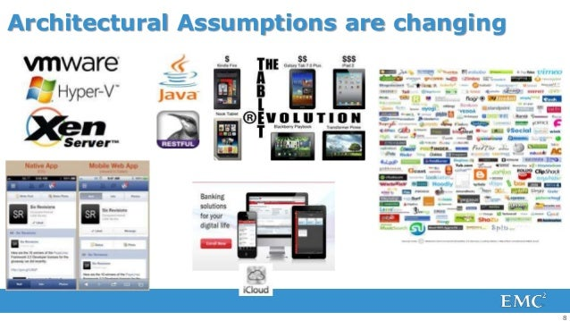 Architectural Assumptions are changing                                         8