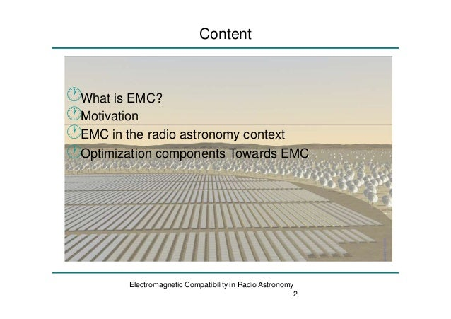 Emic effects in radio frequency instruments Slide 2