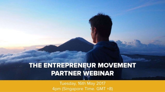 "Project Summary Launch ""The Entrepreneur Movement"" to spread awareness at this critical time. Launch Entrepreneur Mentor C..."