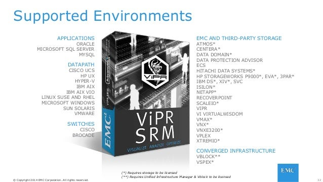 33© Copyright 2014 EMC Corporation. All rights reserved.© Copyright 2014 EMC Corporation. All rights reserved. Scope: • Up...