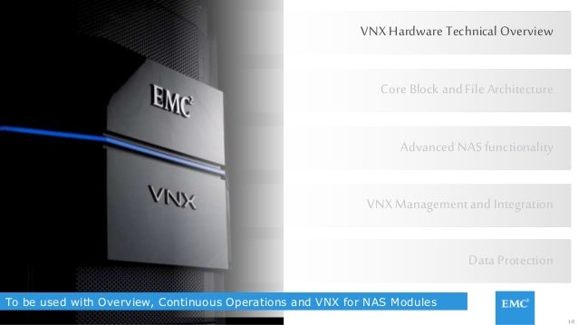 10© Copyright 2015 EMC Corporation. All rights reserved. To be used with Overview, Continuous Operations and VNX for NAS M...