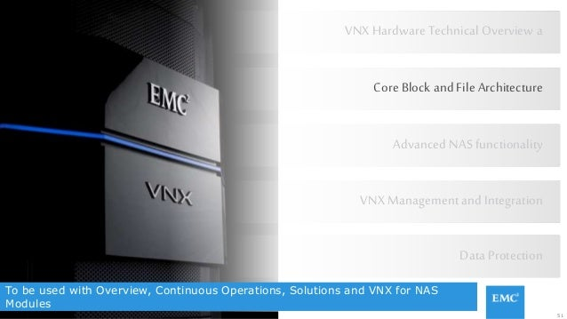 51© Copyright 2015 EMC Corporation. All rights reserved. To be used with Overview, Continuous Operations, Solutions and VN...