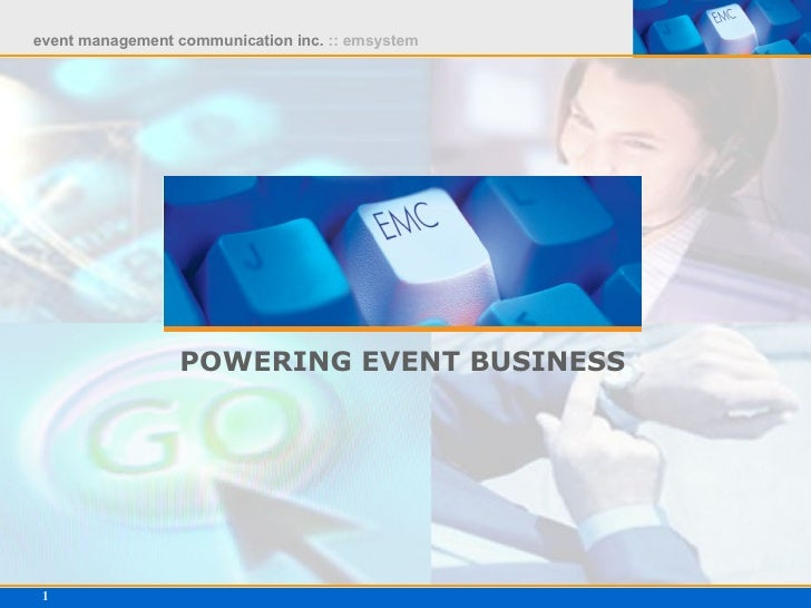 POWERING EVENT BUSINESS
