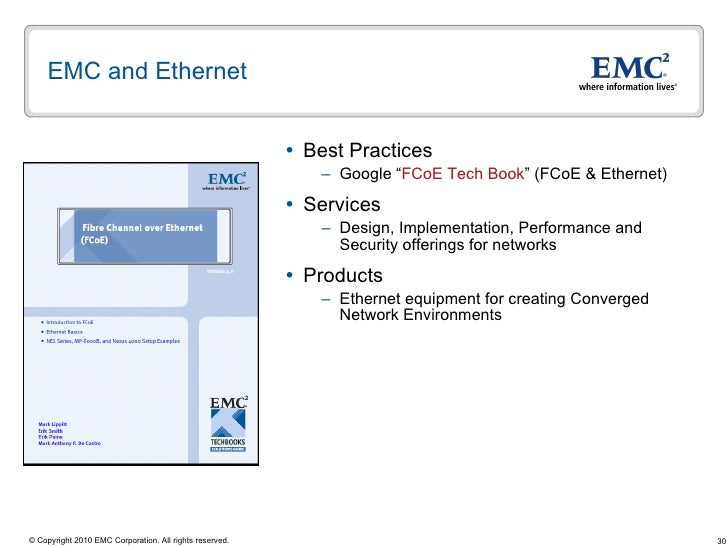 Converged Networks Fcoe Iscsi And The Future Of Storage