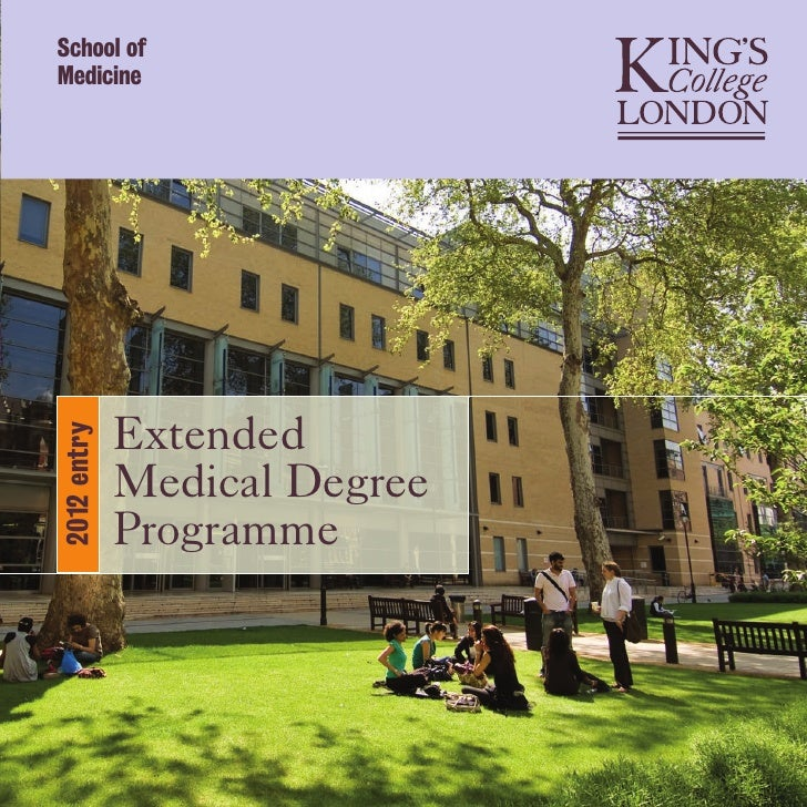School ofMedicine             Extended2012 entry             Medical Degree             Programme